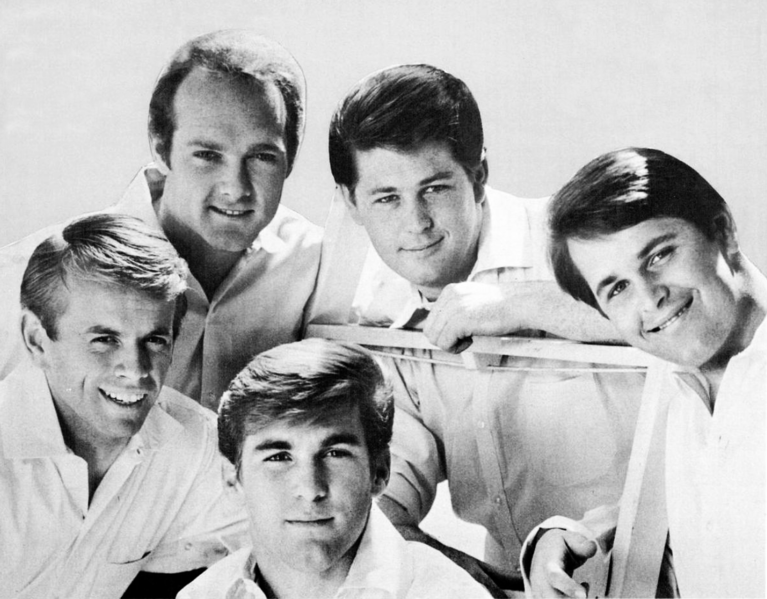 The+Beach+Boys%2C+pictured+1965.+The+sixth+member%2C+Bruce+Johnston%2C+is+not+pictured.