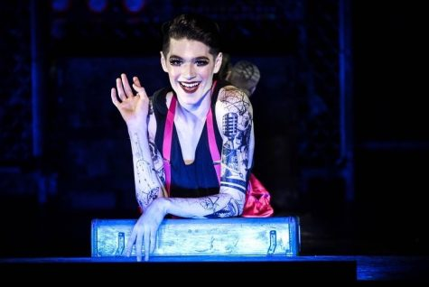Greyson Taylor, in a production of Cabaret in South Carolina