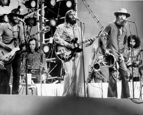 The Beach Boys in 1971, this concert is depicted for a few minutes in the film.