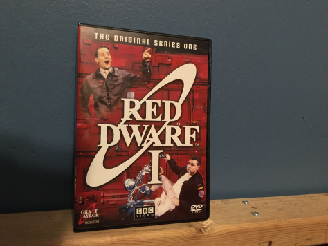 "My copy of the DVD for Series 1 of ""Red Dwarf"""