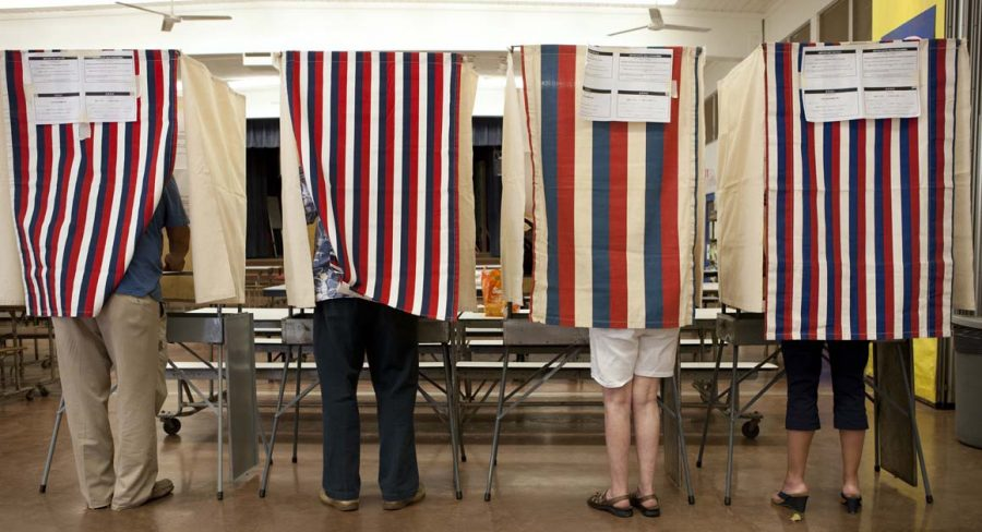 Students Experience Voting For The First Time
