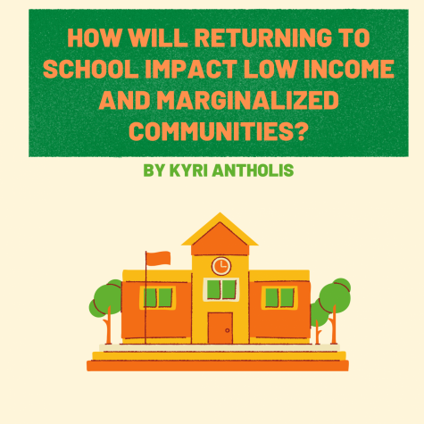 How Will Returning to School Impact Low Income and Marginalized Communities?