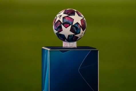 The champions league official matchball.